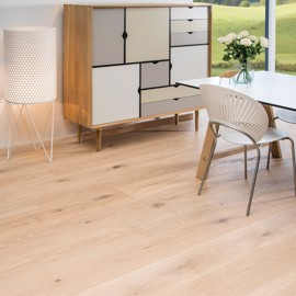 Ek Country Borstat Vit Ultramatt lack 220mm<br/ > Timberman Wideplank