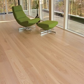 Ask Natur Vit Mattlack 185mm<br/ > Wiking 22mm Plankgolv