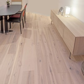 Ask Prestige Atlantic Vit Mattlack 235mm<br/ > Wiking 22mm Plankgolv